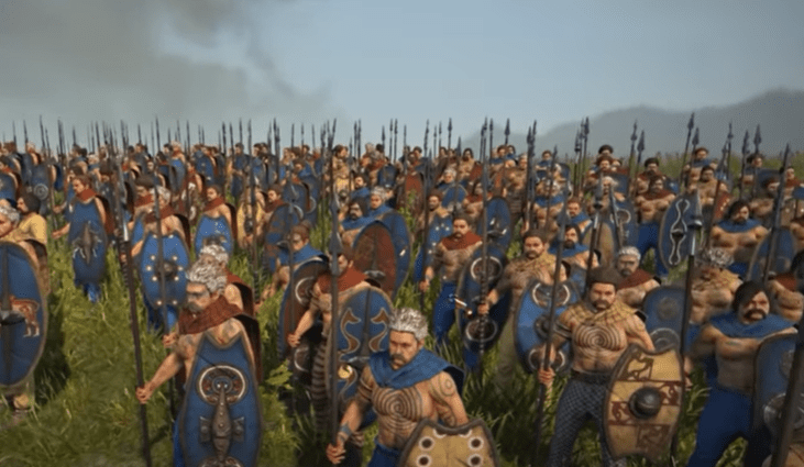Total War Rome 2 attact