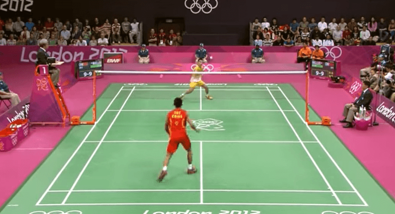 what are the rules of badminton
