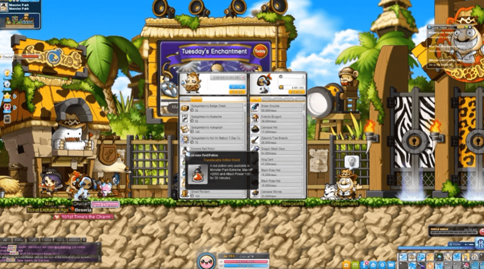 maplestory leveling guide