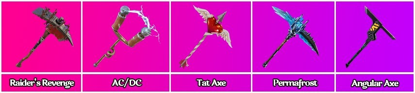 What is the rarest pickaxe in Fortnite
